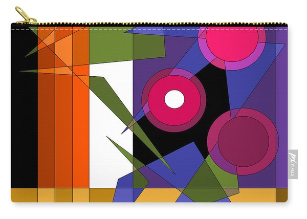 Broadway Lights Carry-all Pouch
