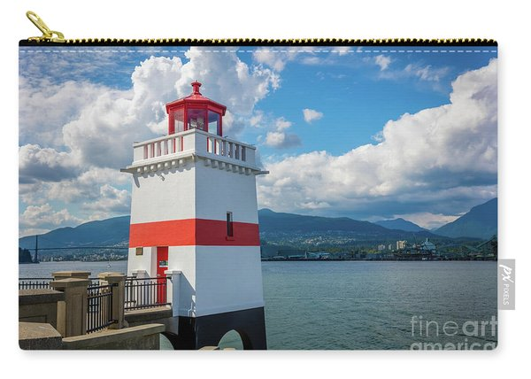 Brockton Point Lighthouse Carry-all Pouch