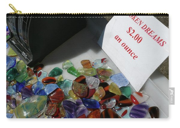 Broken Dreams For Sale Carry-all Pouch