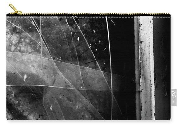 Broken Glass Window Carry-all Pouch