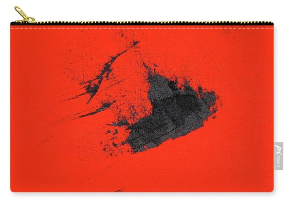 Carry-all Pouch featuring the painting Broken Heart by Michael Lucarelli