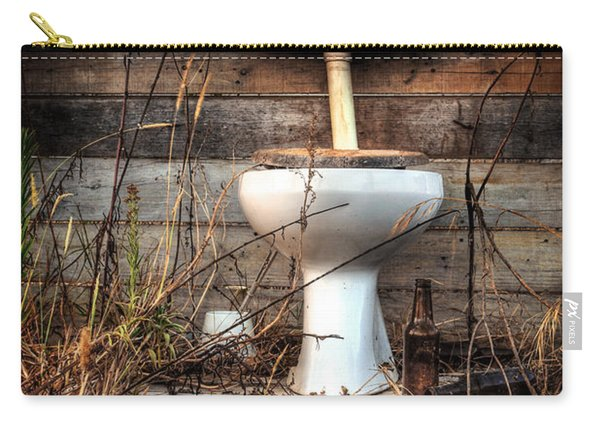 Broken Toilet Carry-all Pouch