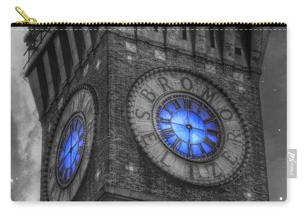 Bromo Seltzer Tower Baltimore - Blue  Carry-all Pouch