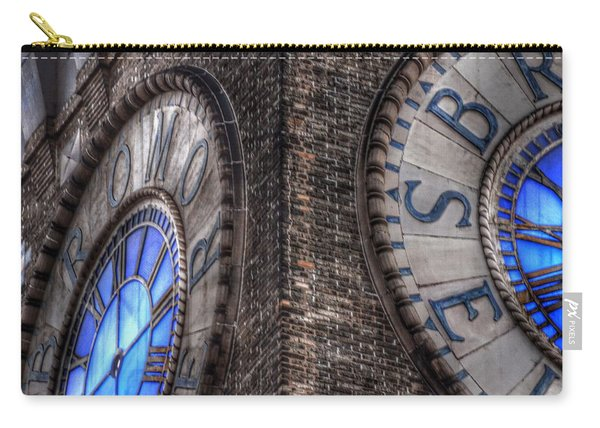 Bromo Seltzer Tower Clock Face #2 Carry-all Pouch
