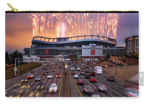 Broncos Win Afc Championship Game 2016 Carry-all Pouch