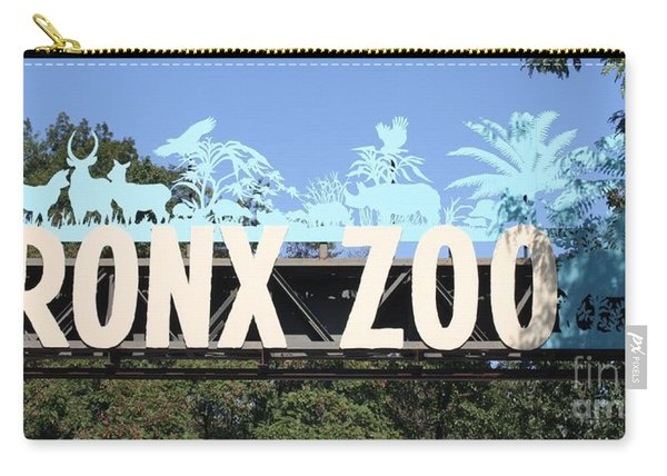 Bronx Zoo Entrance Carry-all Pouch