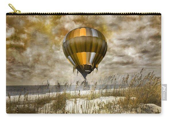 Bronze Beach Ballooning Carry-all Pouch