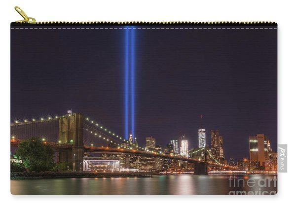Brooklyn Bridge Tribute In Lights  Carry-all Pouch