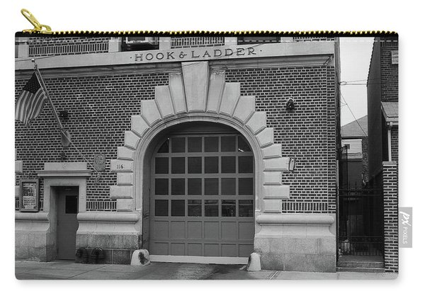 Brooklyn Firehouse 2001 Bw Carry-all Pouch