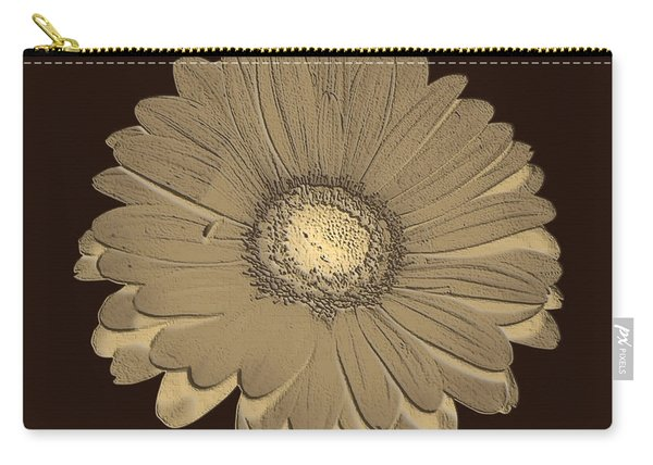 Brown Art Carry-all Pouch