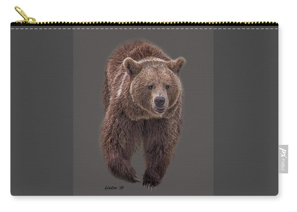 Brown Bear 8   Carry-all Pouch