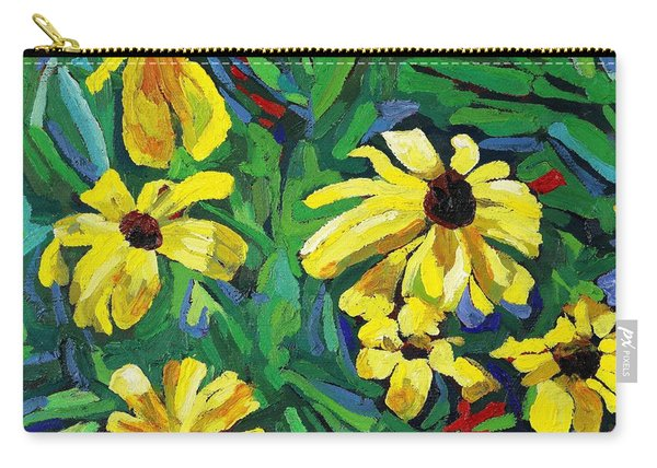Brown-eyed Susans Carry-all Pouch