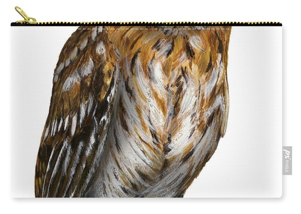 Brown Owl Or Eurasian Tawny Owl  Strix Aluco - Chouette Hulotte - Carabo Comun -  Nationalpark Eifel Carry-all Pouch