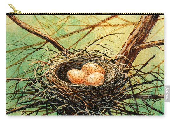 Brown Speckled Eggs Carry-all Pouch