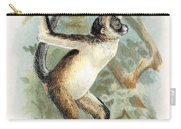 Brown Spider Monkey, Endangered Species Carry-all Pouch
