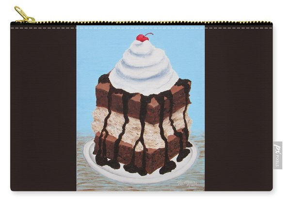 Brownie Ice Cream Sandwich Carry-all Pouch