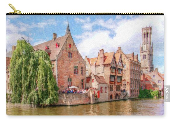 Bruges Canal Belgium Dwp-2611575 Carry-all Pouch