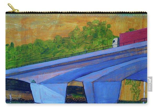 Brunswick River Bridge Carry-all Pouch