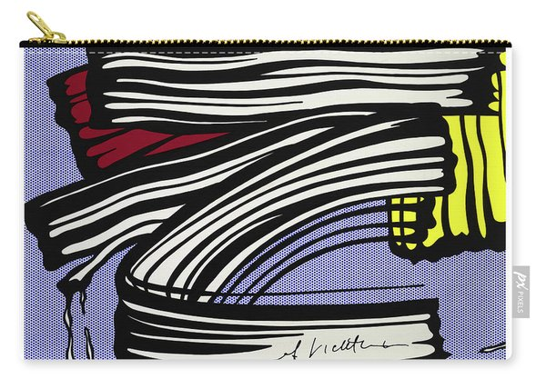 Brushstroke -1965 Carry-all Pouch