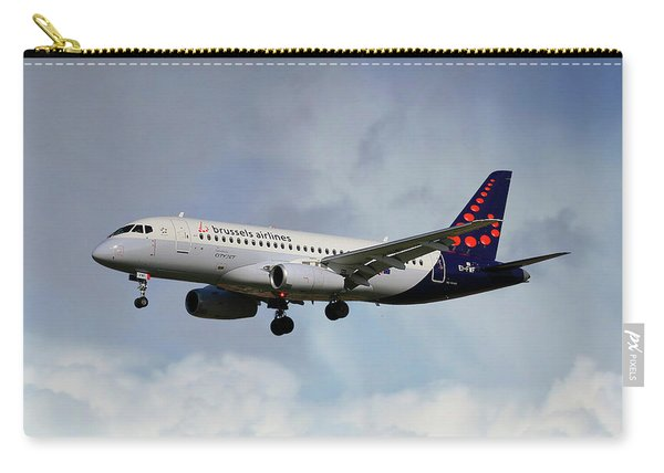 Brussels Airlines Sukhoi Superjet 100-95b Carry-all Pouch