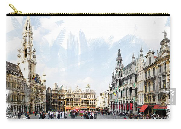 Brussels Grote Markt  Carry-all Pouch
