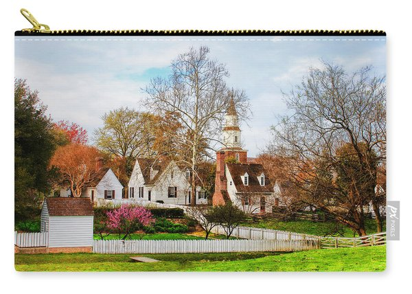 Colonial Williamsburg  Carry-all Pouch