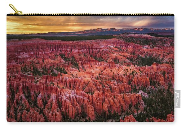 Bryce Canyon In The Glow Of Sunset Carry-all Pouch
