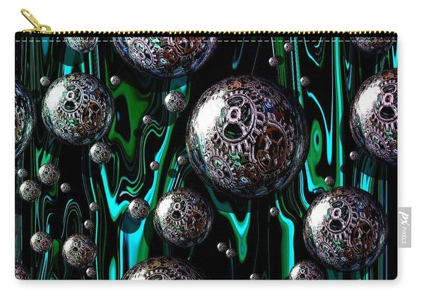 Bubble Abstract 1e Carry-all Pouch