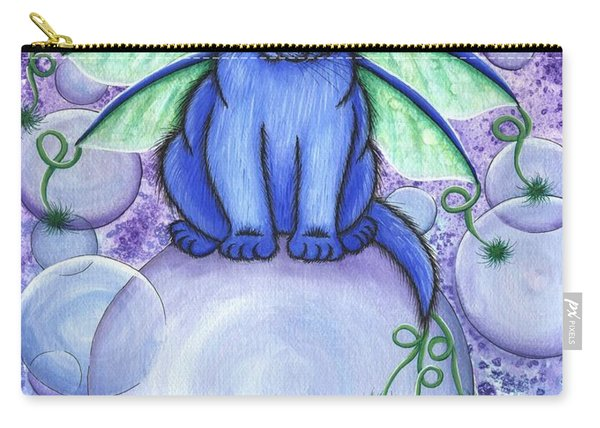 Bubble Fairy Cat Carry-all Pouch
