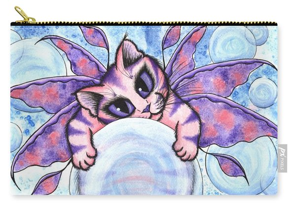 Bubble Fairy Kitten Carry-all Pouch