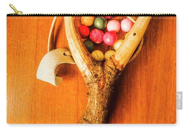 Bubblegum Slingshot Carry-all Pouch