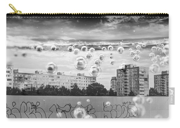 Bubbles And The City Carry-all Pouch