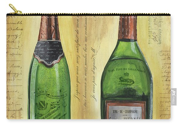 Bubbly Champagne 1 Carry-all Pouch