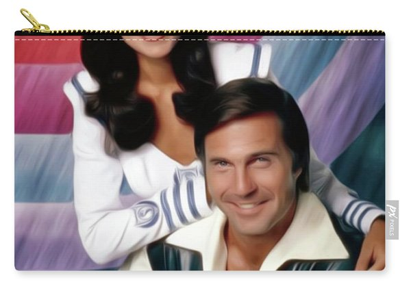 Buck Rogers, Gil Gerard And Erin Gray Carry-all Pouch