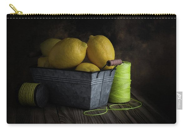 Bucket Of Lemons Carry-all Pouch