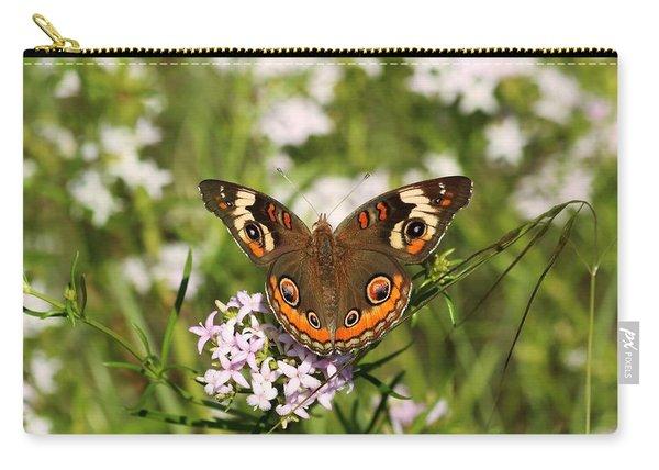 Buckeye Butterfly Posing Carry-all Pouch