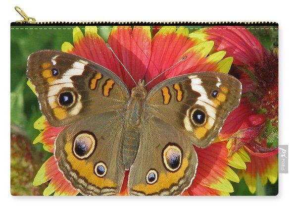 Buckeye On Blanketflower Carry-all Pouch