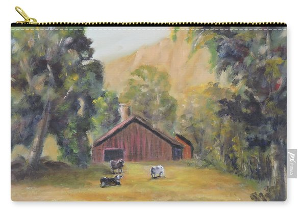 Bucks County Pa Barn Carry-all Pouch