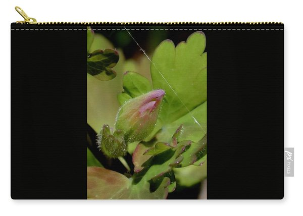 Bud And Spider Silk Carry-all Pouch