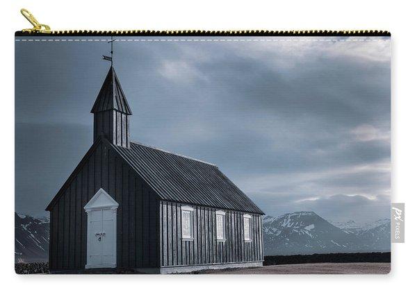Budakirkja, The Black Church Carry-all Pouch