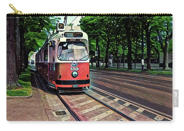 Budapest Trolley Carry-all Pouch