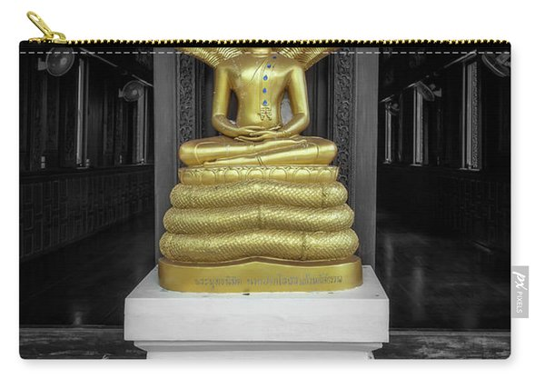 Buddha And Naga Carry-all Pouch
