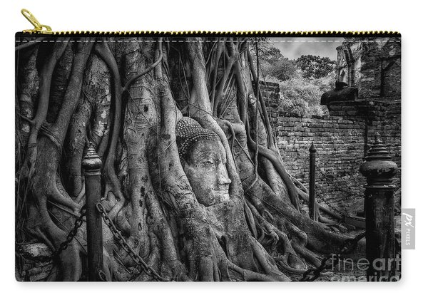 Buddha Head Ayutthaya Carry-all Pouch