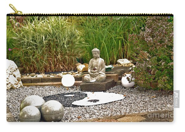 Buddha Looks At Yin And Yang Carry-all Pouch