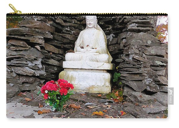 Buddha Statues 2 Carry-all Pouch