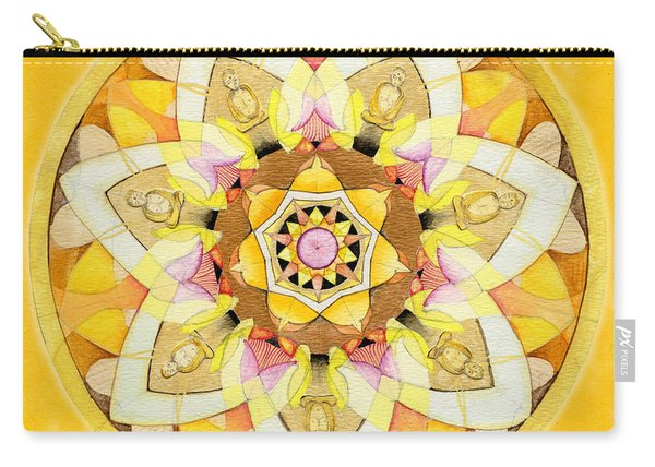 Buddha Sun Mandala Carry-all Pouch