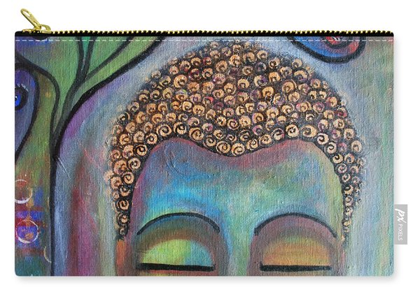 Buddha With Tree Of Life Carry-all Pouch
