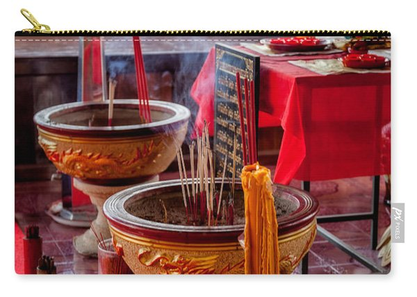 Buddhist Incense Carry-all Pouch