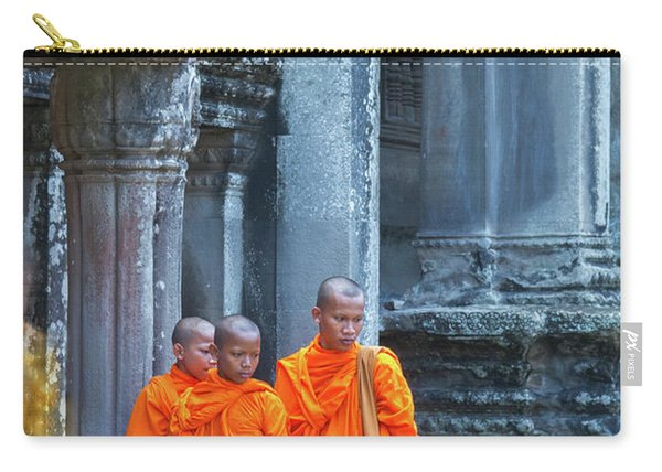 Buddhist Monks Cambodia Carry-all Pouch