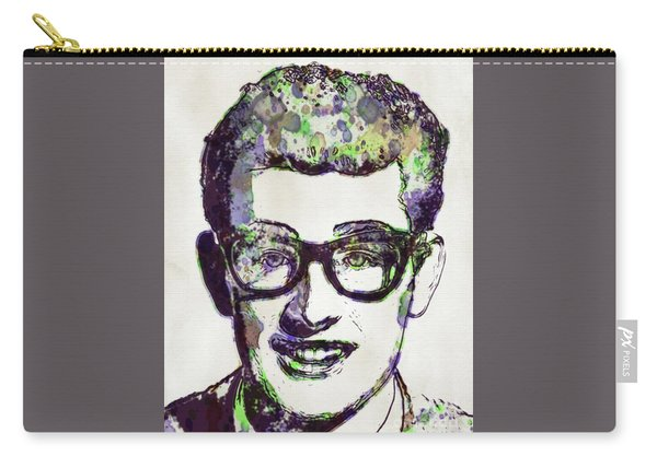 Buddy Holly, Pop Art Carry-all Pouch